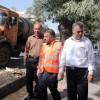 اجرای طرح پاکسازی و تنظیف شهری با حضور کارکنان شهرداری