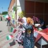 مراسم استقبال از خیرین دبیرستان ادب تهران / دستان کوچک اما پرسخاوت دانش آموزان