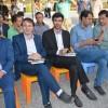 جشن کرامت و میلاد امام رضا (ع) به همراه تجلیل از خبرنگاران در پل معلق برگزار شد