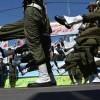 هفته دفاع مقدس در مشگینشهر با رژه نیروهای مسلح آغاز شد