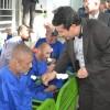 بازدید نوروزی فرماندار و مسئولان در اولین روز عید