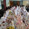 جشن انجام اعمال و تکالیف الهی دختران مدرسه ۱۷ شهریور برگزارشد