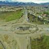 بزرگترین میدان شهرستان مشگینشهر به نصف میدان تبدیل شد