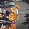 گزارش تصویری از اولین جشنواره ملی فطیرمشگین در پل معلق