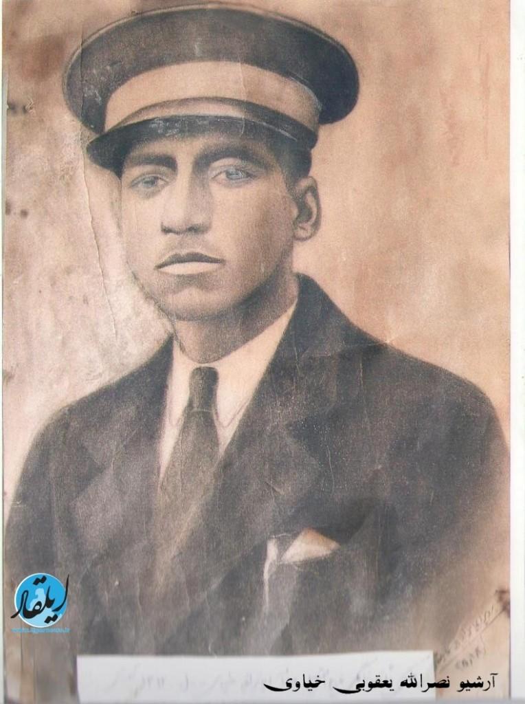آقای حاج عباداله ایمان زاده خیاوی ساکن محله چایپاره اولین دانش آموز مشکین شهر که شاگرد مدرسه منظم الملک بود 1307