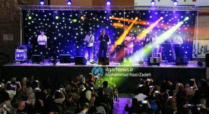 کنسرت فریدون آسرایی در مشگین شهر اجرا شد