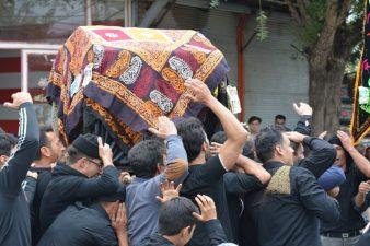 گزارش تصویری مراسم عزاداری و شبیه خوانی مشکین شهر + سری دوم